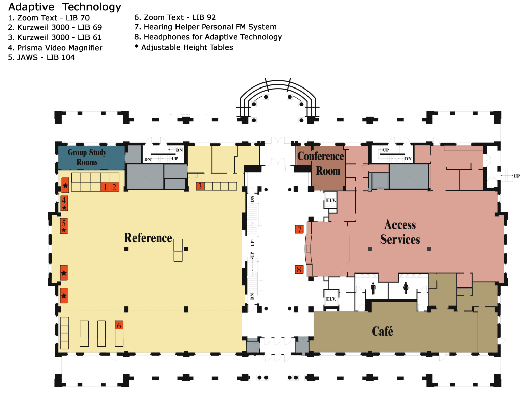 Peachy Library Maps Floor Plans R Barbara Gitenstein Library Home Interior And Landscaping Mentranervesignezvosmurscom