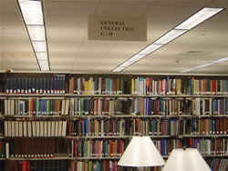 photo of book stacks